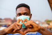 Mask and Heart